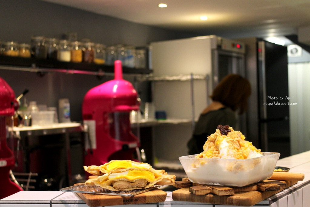 台中美食|台中冰品|芙露愛思 F.lu ICE–IG熱門拍照景點,熱壓吐司、雪花餅、果汁專賣@北區 梅亭街 中國醫