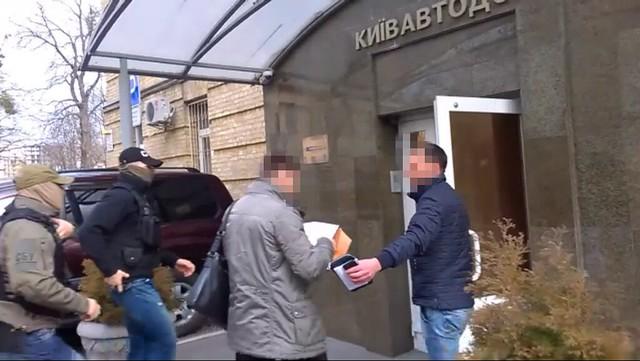 СБУ викрила розкрадання сотень мільйонів гривень посадовцями Київавтодору