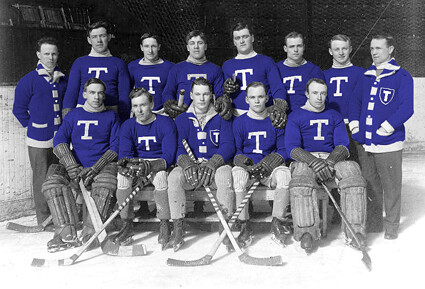 1917-18 Toronto Blueshirts team