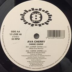 AVA CHERRY:GIMME GIMME(LABEL SIDE-B)
