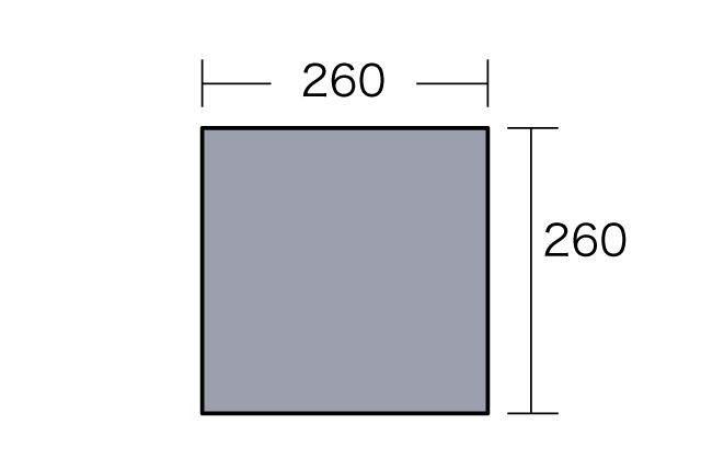 小川キャンパルーキャンパルジャパン PVCマルチシート270×270