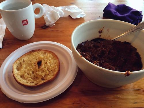 Veggie Quinoa Bean Dinner at Bake Shop NY (April 3 2016)