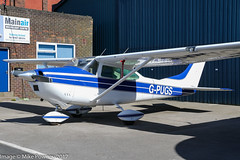 G-PUGS - 1965 build Cessna 182H Skylane, outside Westair maintenance at Barton