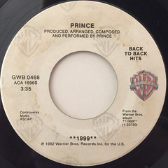 PRINCE:1999(LABEL SIDE-A)