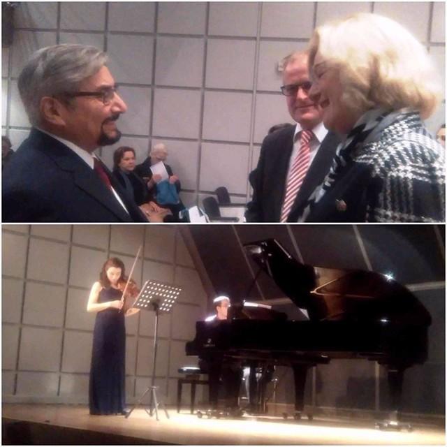 Concierto de Fernanda Villalvazo y César Palmeros