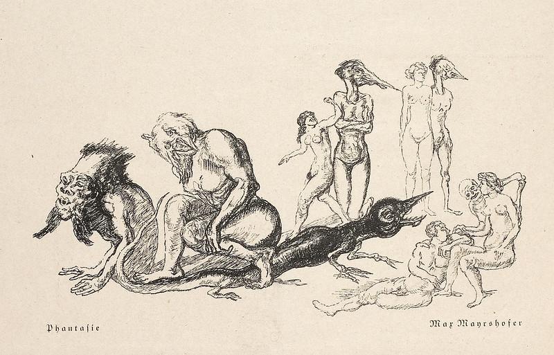 Max Mayrshofer - Phantasie (2), 1930