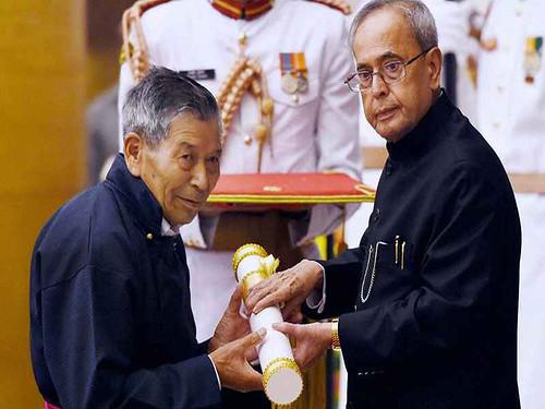 चेवांग नॉर्फेल को 2015 में राष्ट्रपति द्वारा पद्मश्री से सम्मानित किया गया