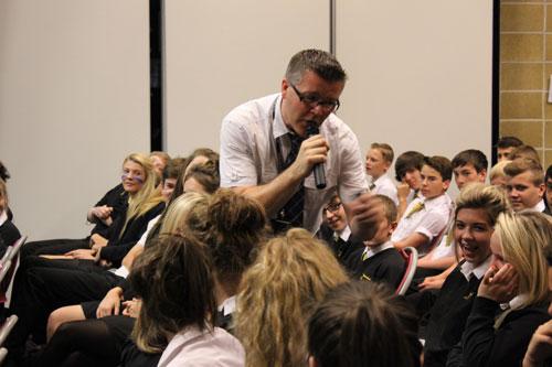 Pupils improving their English GCSE skills