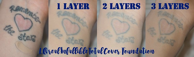 L'Oreal Infallible Total Cover Tattoo