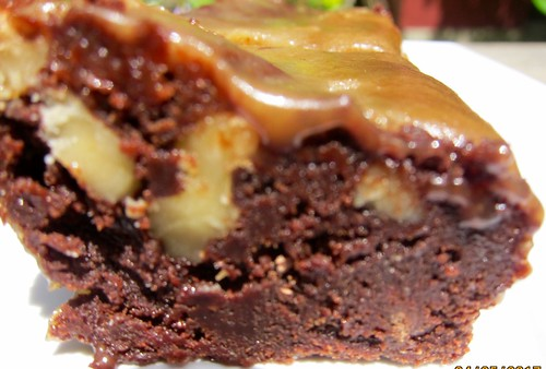 scotch mocha walnut brownies