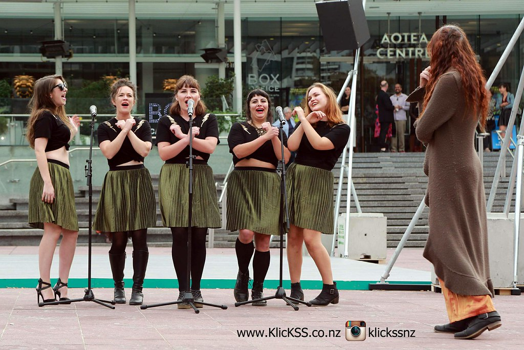 Disco Flashmob by Papaya Stories - Aotea Square