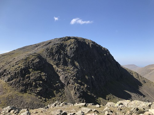 Great Gable from Green gable summit