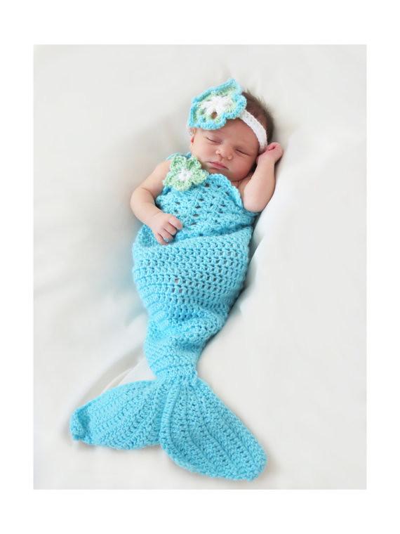 Mermaid Tail Crochet Pattern Newborn To 5t Mermaid Pho Flickr