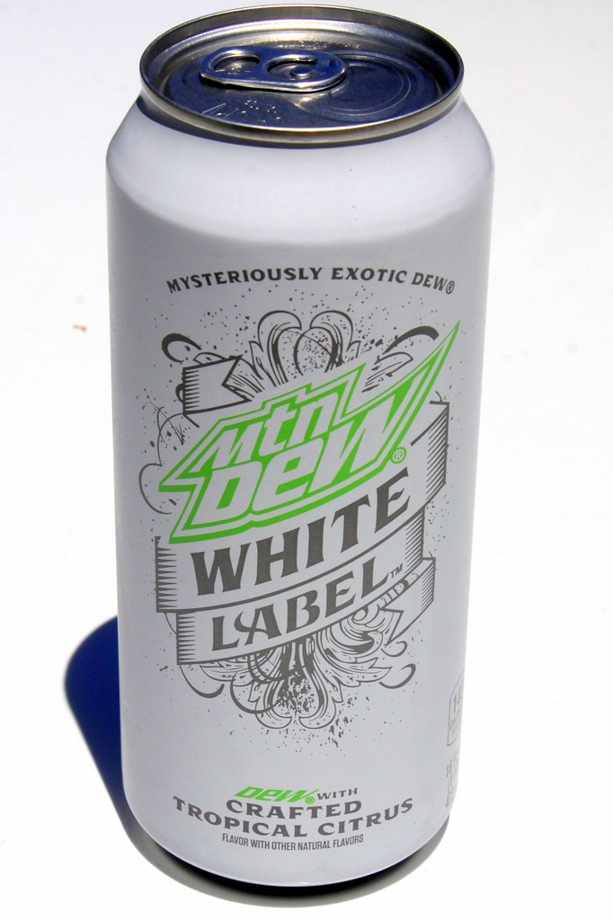 mountain dew white label | from the same line that started w… | flickr