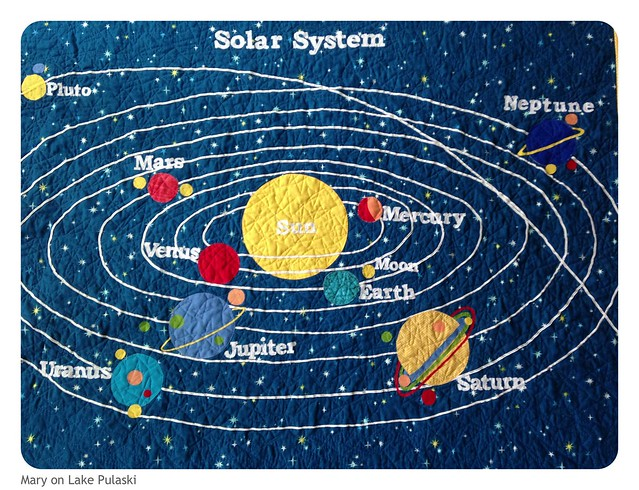 solar system quilt flickr photo sharing