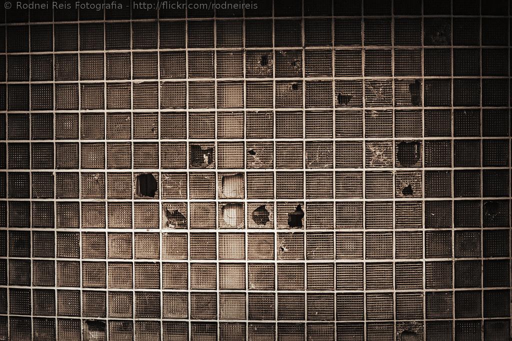 Glass Tiles Broken Copyright Rodnei Reis All Rights