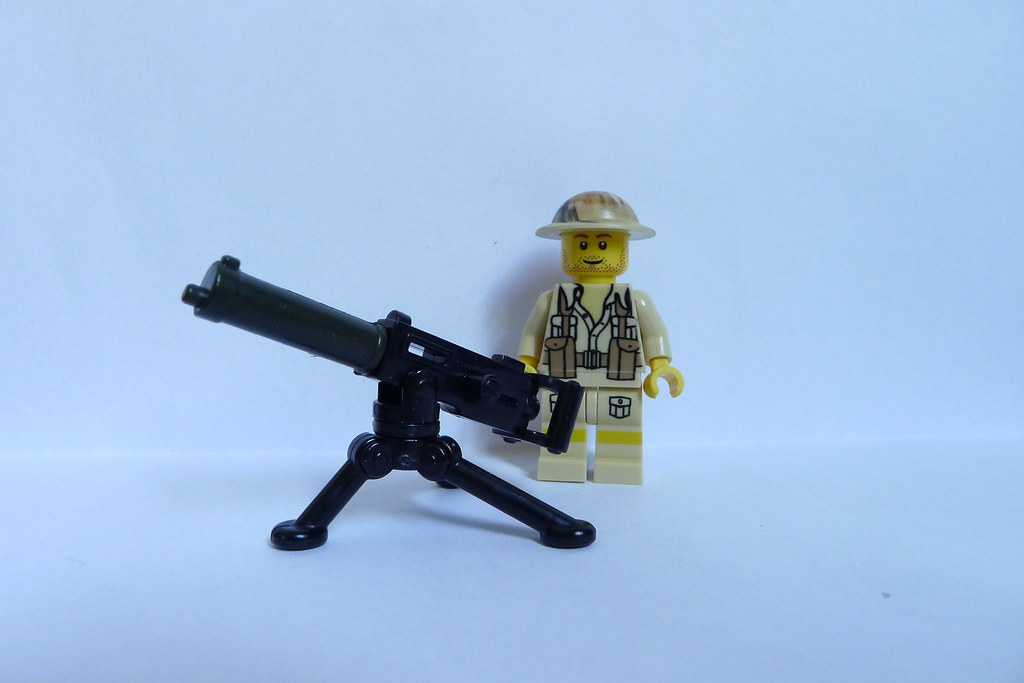 BrickArms Maxim / Vickers Gun   Creating the classic British ... Enigma Machine Message