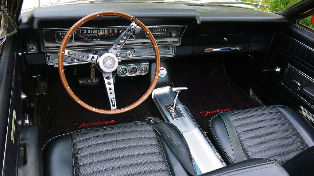 1967 Ford Fairlane GT A Convertible Interior