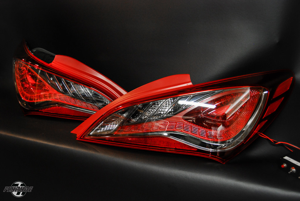 smoked chrome 2013 sequential led tail lights 2013 genesis flickr. Black Bedroom Furniture Sets. Home Design Ideas