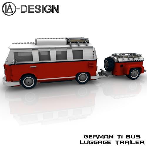 lego t1 bus vw anh nger 10220 7 the custom camper. Black Bedroom Furniture Sets. Home Design Ideas