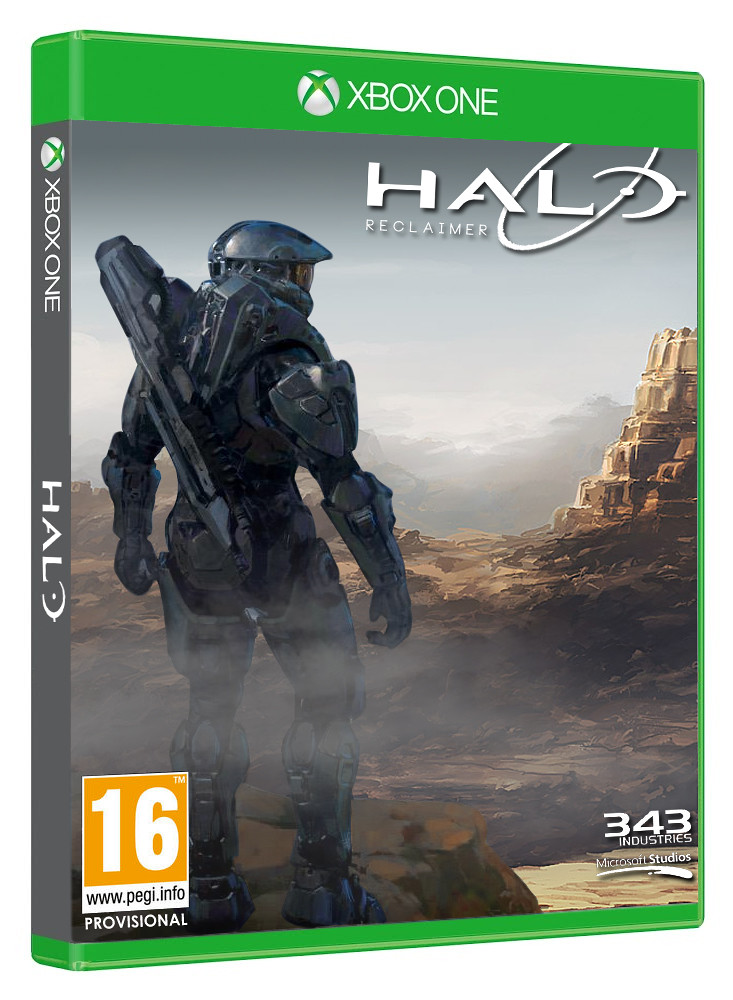 Halo 5 Official Cover Halo 5 Xbox One Cover Art