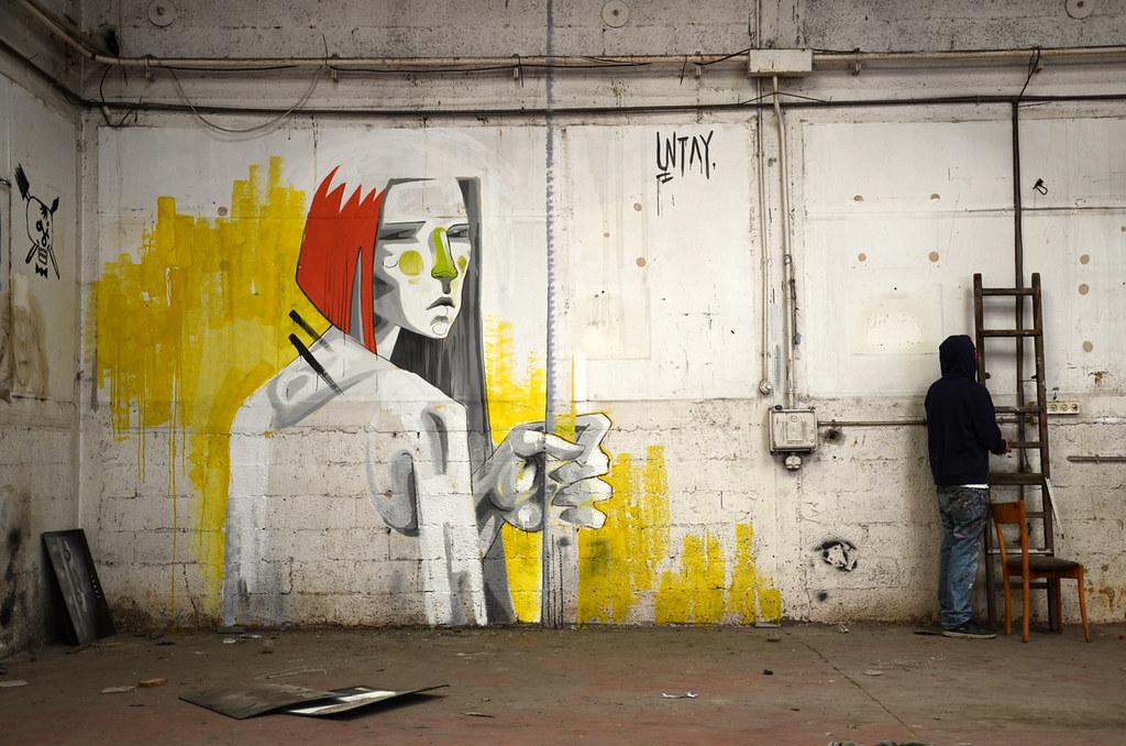 Ties hunter abandoned garage east tel aviv untay flickr