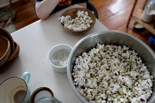 afternoon popcorn