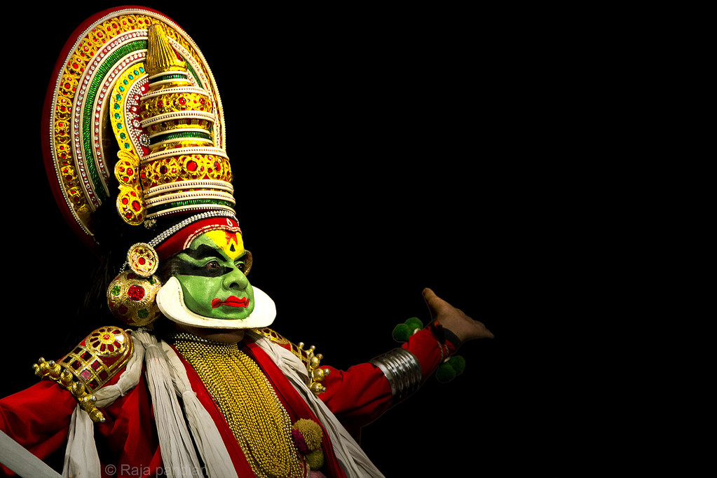 Kathakali Means A Story Play. The Most
