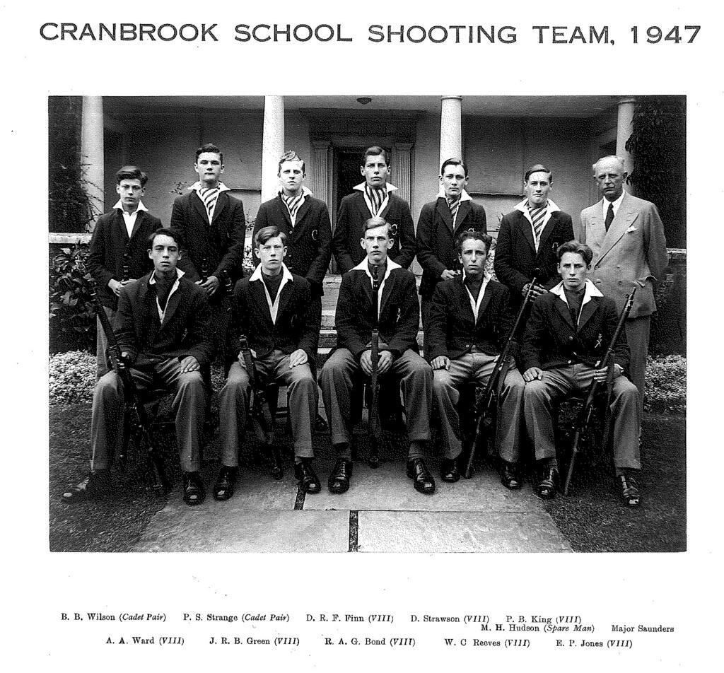 Cranbrook School Shooting Team, 1947