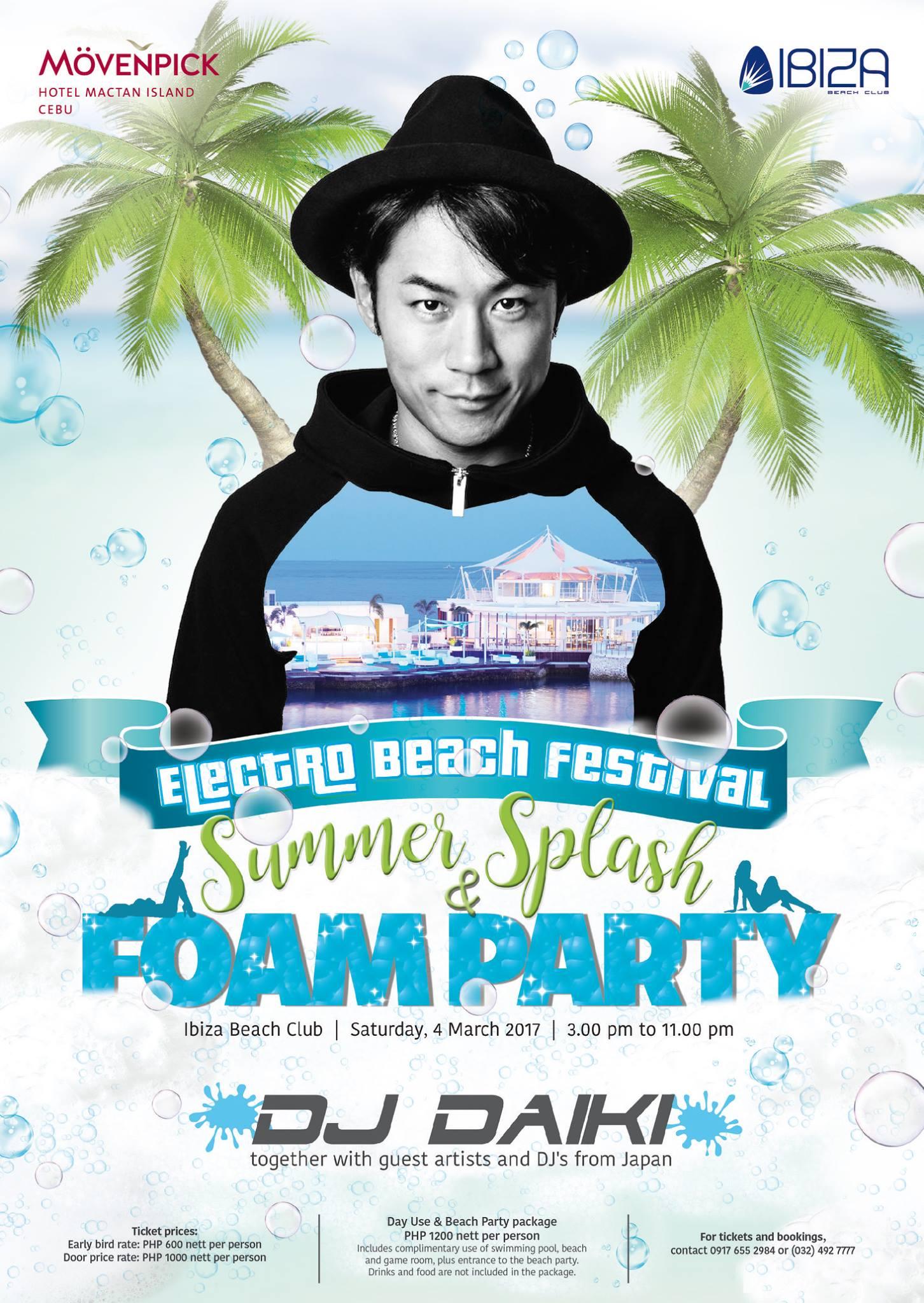 Movenpick Hotel Mactan Island Cebu Ibiza Electro Beach Festival