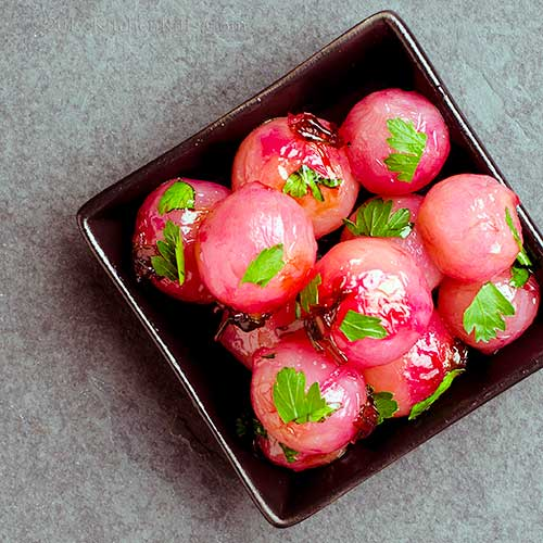Glazed Radishes