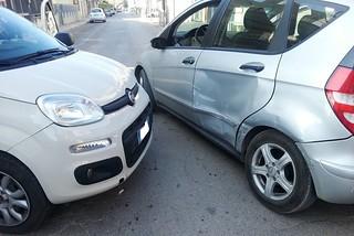 Noicattaro. Incidente via Crocecchia front