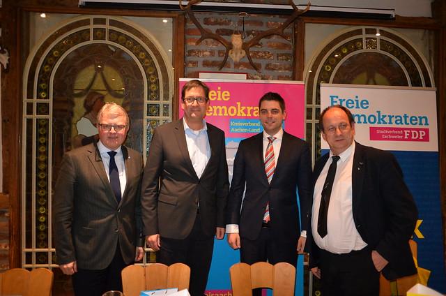 Diskussion mit Frank Schäffler in Eschweiler