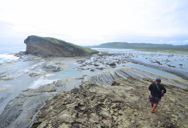 magasang rock formation biri island