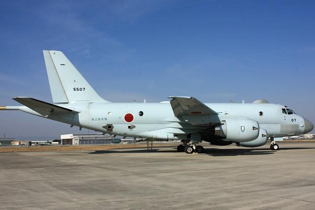 P-1対潜哨戒機 5507号機 IMG_4613_2