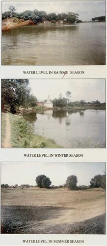 तालाबों का आकारिकीय स्वरूप एवं जल-ग्रहण क्षमता