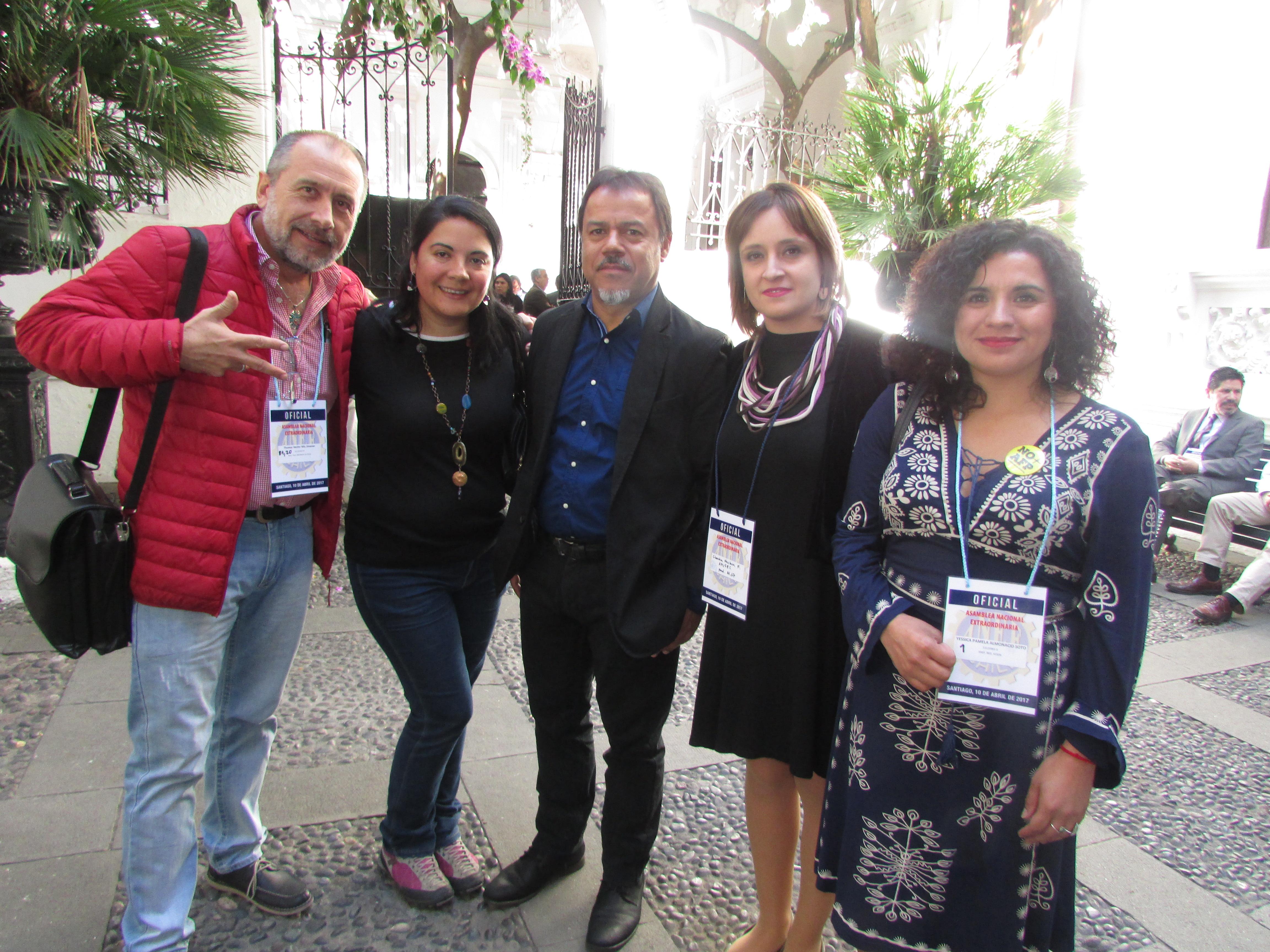 AFUSEC en Asamblea Nacional Extraordinaria ANEF - 10 Abril 2017