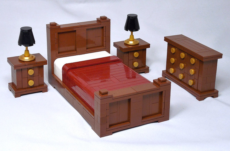 LEGO® MOC by Vitreolum: Bedroom Furniture