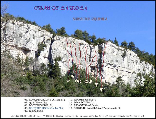 Berguedà - Zona Fígols -03- Grau De la Mola -03- Subsector Izquierda (Entrada Blog)