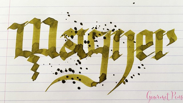 Ink Shot Review Diamine Music Wagner @AppelboomLaren 6