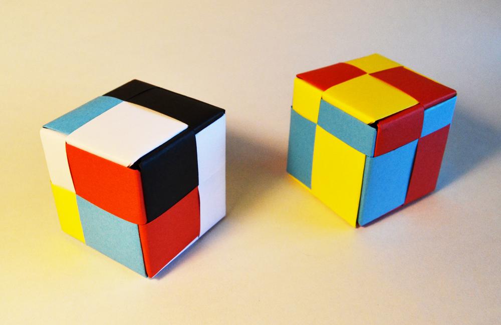 239-Mondrian cube
