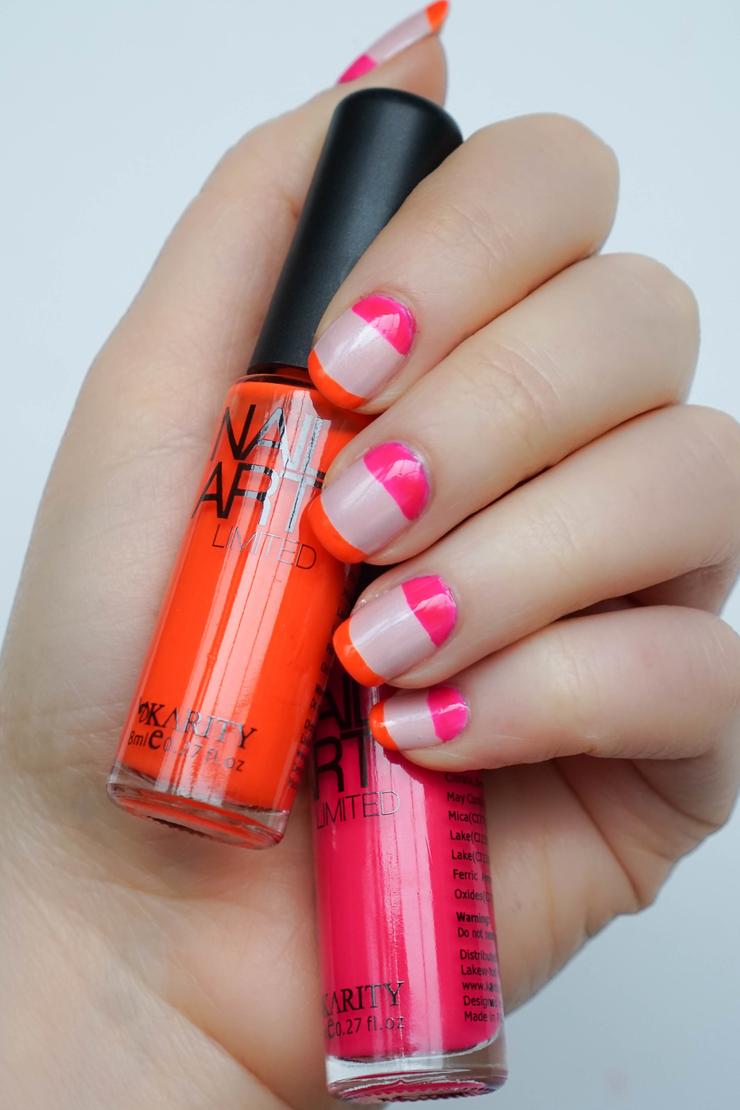 Blush and Bold Manicure with Crystal Infused Nail Polish - Living ...
