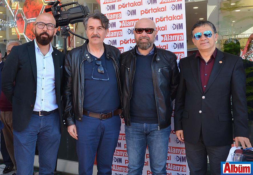 Alper Kutay, Fatih Yazan, Mehmet Çelik, Mehmet Ali Dim