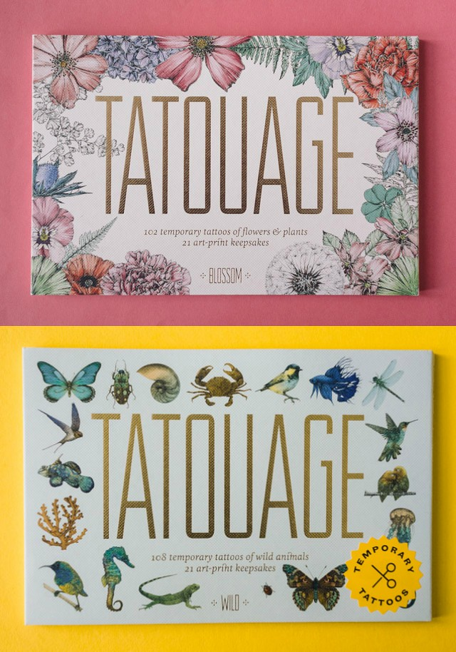 tattooage: wild & blossom | book review