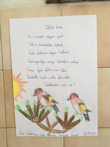 Költészet Napja alsó tagozat