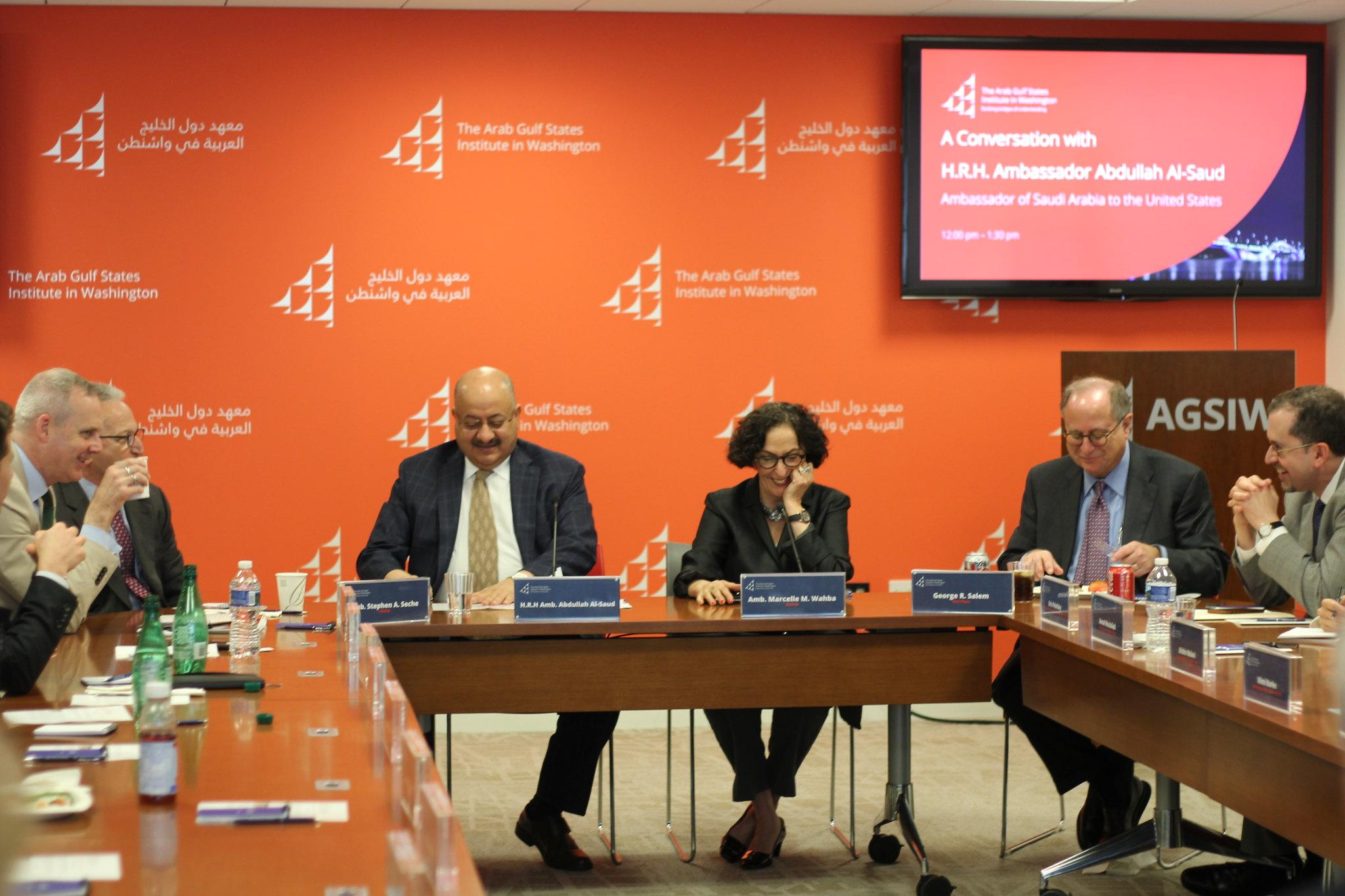 A Conversation with H.R.H. Ambassador Abdullah Al-Saud