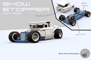 Show Stopper Rod - 10-wide - Lego