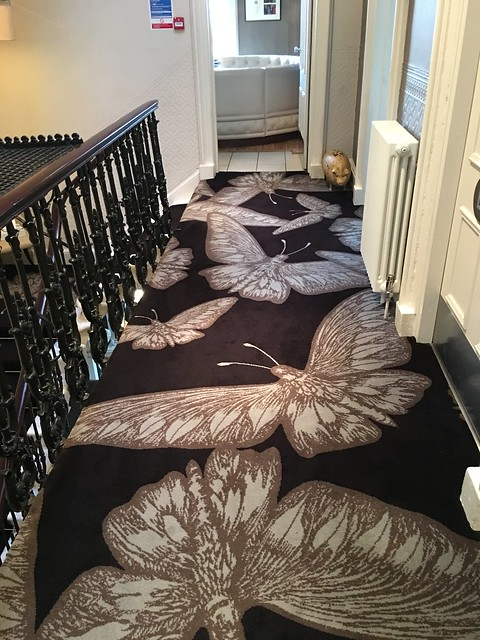 Michelin 030 giant butterflies on the carpet