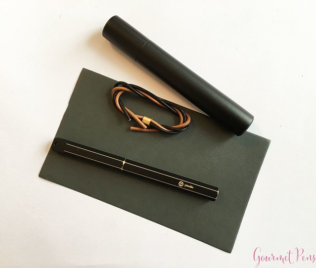 Review YStudio The Weight of Words Portable Fountain Pen - Brassing & Classic @AppelboomLaren 13