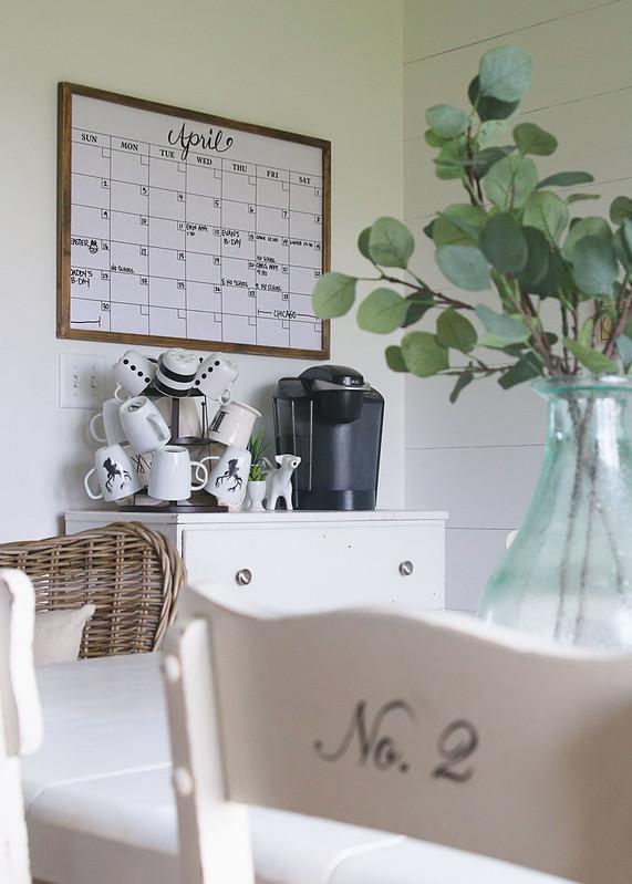 Coffee Bar Calendar